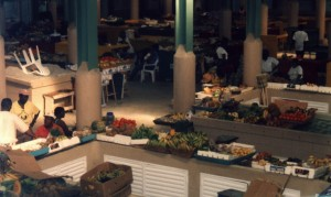 Antigua market interior