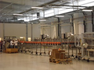 Lasco's bottling line