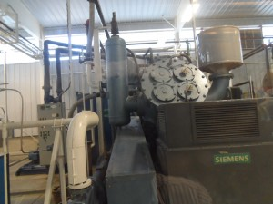 Section of new plant at Lasco Manufacturing at White Marl, St. Catherine