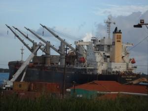 Bauxite ship