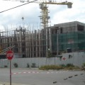 Building under construction  in Montego Bay contributed to economic growth in 2014 Q2.