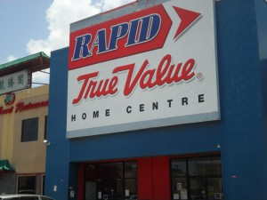 Rapid True Value owned by Hardware & Lumber an associate of Pan Jam