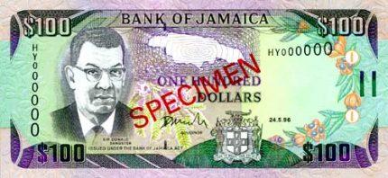 Le Jamaican Dollar Vs Us