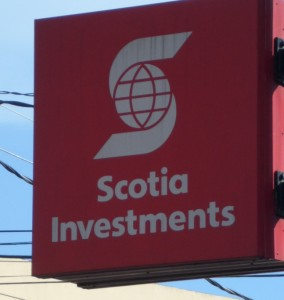 Scotia Investments ended at a 52 weeks' high on Monday of $34.30.