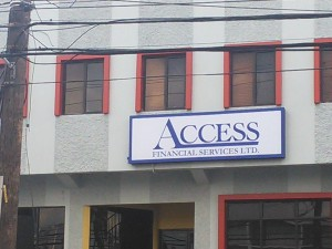 Access Financial Services' profit jumps 29% in Q1.
