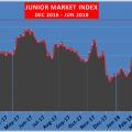 Junior Market down 109 points in 3 days